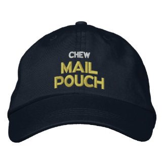 Chew Mail Pouch Embroidered Baseball Hat