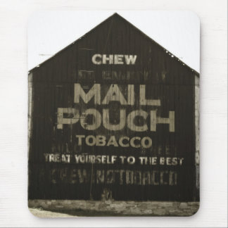 Chew Mail Pouch Tobacco - Antique Photo Finish Mouse Pad