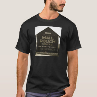 Chew Mail Pouch Tobacco Antique Photo Finish T-Shirt