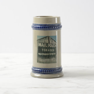 Chew Mail Pouch Tobacco Barn Beer Stein