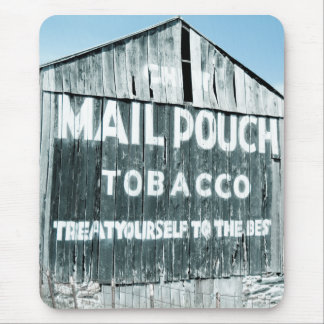 Chew Mail Pouch Tobacco Barn Mouse Pad