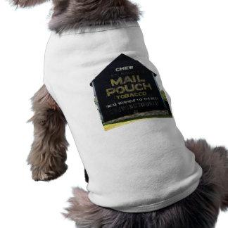 Chew Mail Pouch Tobacco Barn - Original Photo Doggie Tshirt