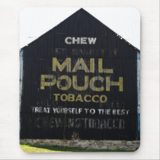 Chew Mail Pouch Tobacco Barn - Original Photo Mouse Pad