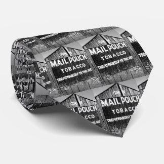 Chew Mail Pouch Tobacco Barn Original Photo Tie