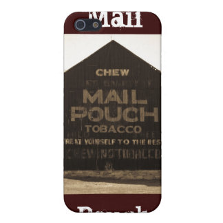 Chew Mail Pouch Tobacco Barn - Sepia Finish Cover For iPhone SE/5/5s