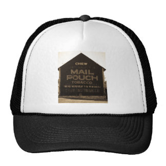 Chew Mail Pouch Tobacco Barn - Sepia Finish Trucker Hat