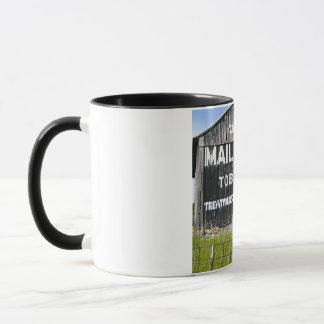 Chew Mail Pouch Tobacco, Old Barn Mug