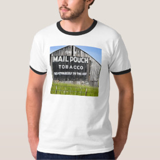 Chew Mail Pouch Tobacco, Old Barn T-Shirt