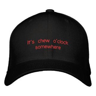 chew o'clock Baseball Cap