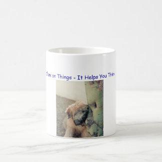 Chew on Things - It Helps You Think Coffee Mug