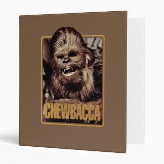 Chewbacca Badge Binder
