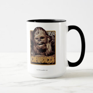 Chewbacca Badge Mug