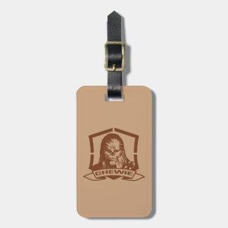 Chewbacca Brown Bag Tag