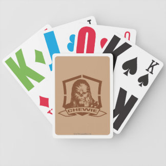 Chewbacca Brown Bicycle Playing Cards