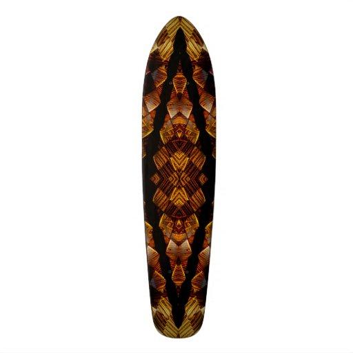 Chewbacca Chesterfield Checkers Mandala Skateboard