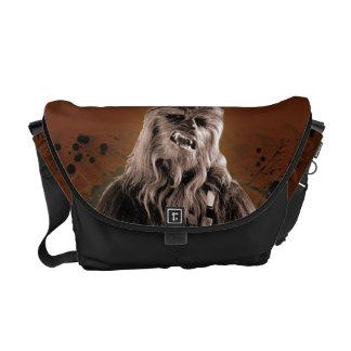 Chewbacca Graphic Messenger Bag