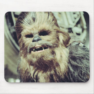 Chewbacca Photograph Mouse Pad