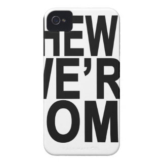 CHEWIE WE'RE HOME.png Case-Mate iPhone 4 Case