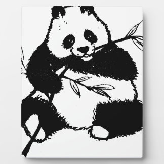 Chewing Panda Plaque