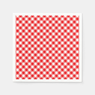 CHEX 5-RED-PAPER NAPKINS