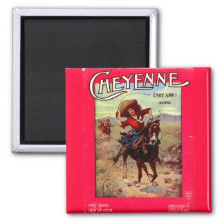 Cheyenne 2 Inch Square Magnet