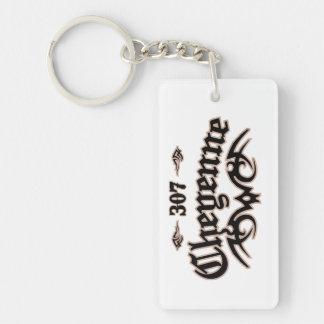 Cheyenne 307 keychain