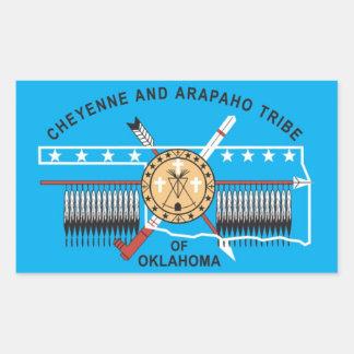 Cheyenne and Arapaho Tribe of Oklahoma Rectangular Sticker