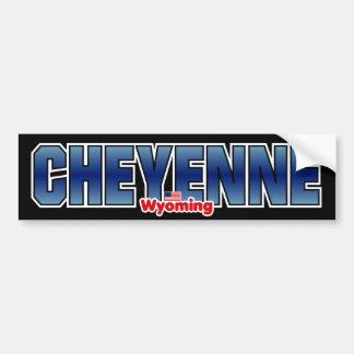 Cheyenne Bumper Bumper Sticker