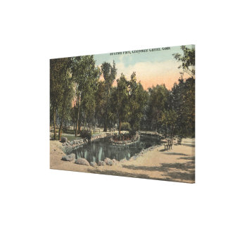 Cheyenne Canyon, Colorado - Stratton Park View Canvas Print