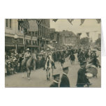 Cheyenne Frontier Days parade. Greeting Card