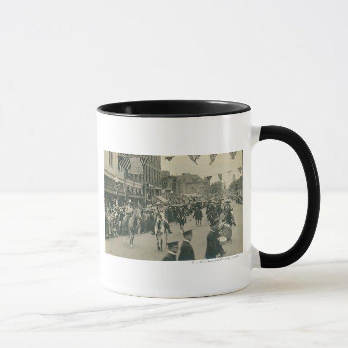 Cheyenne Frontier Days parade. Mug