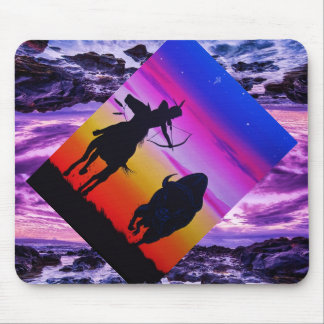 Cheyenne Hunter Mouse Pad