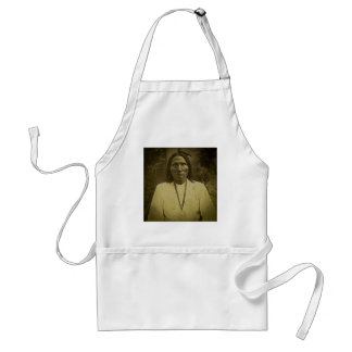 Cheyenne Indian Scout Vintage Stereoview Card Adult Apron
