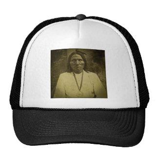 Cheyenne Indian Scout Vintage Stereoview Card Trucker Hat