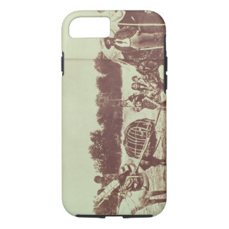 Cheyenne Indians on the Move, 1878 (b/w photo) iPhone 8/7 Case