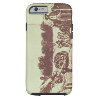 Cheyenne Indians on the Move, 1878 (b/w photo) Tough iPhone 6 Case