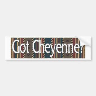 Cheyenne Pegatina Para Auto