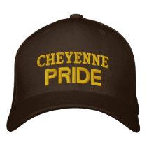 Cheyenne pride embroidered baseball cap