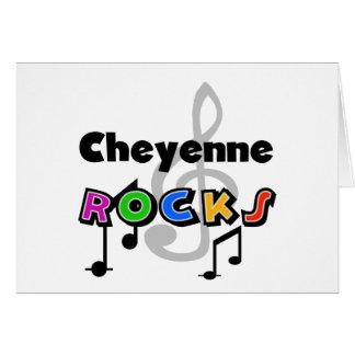 Cheyenne Rocks Greeting Card