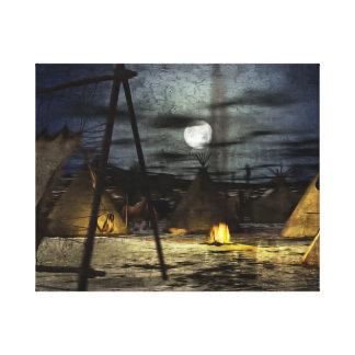 Cheyenne Snow Canvas Print