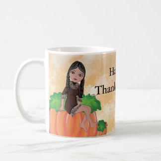 """""""Cheyenne"""" Thanksgiving Quantum Cutie Coffee Mug"""