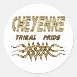 Cheyenne Tribal Pride Decal or Sticker Sheet