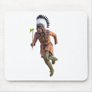 Cheyenne Warrior Chief Running Mouse Pad