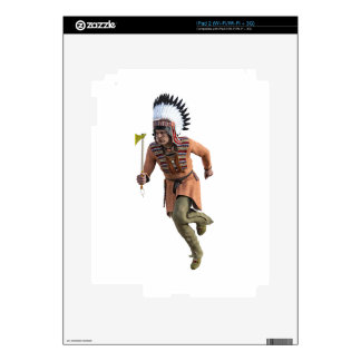 Cheyenne Warrior Chief Running Skin For The iPad 2