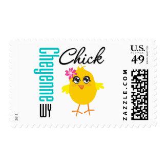 Cheyenne WY Chick Postage Stamp