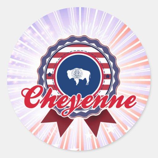 Cheyenne, WY Stickers