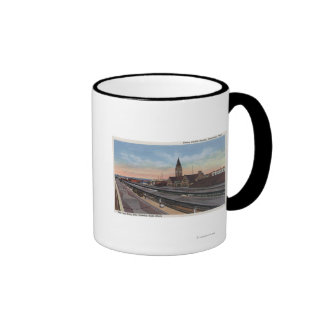 Cheyenne, WY - Union Pacific Railroad Station Mugs
