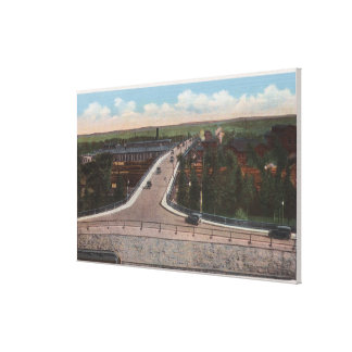 Cheyenne, WY - Viaduct & Main Outlet for Motor Canvas Print
