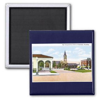 Cheyenne, Wyoming 2 Inch Square Magnet