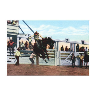 Cheyenne Wyoming Frontier Days Rodeo Canvas Print